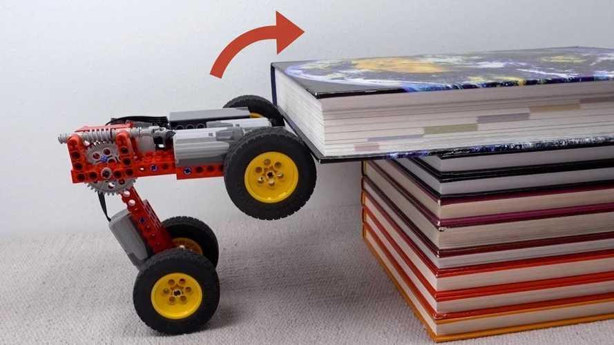Lego-Elektroauto zeigt, wie man über fast jedes Hindernis kommt