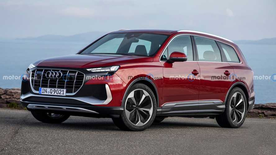 Audi Q9 Unofficial Rendering Previews The New Four Rings Flagship