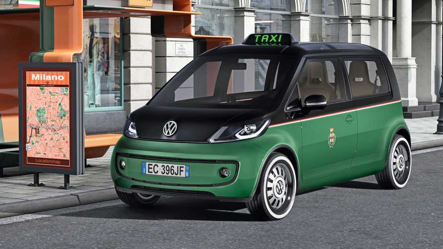 Concept oublié - VW Berlin/Milano/London Taxi (2010/2011)