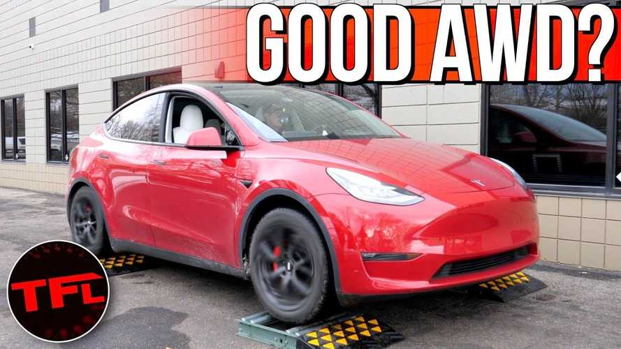How Good Is Tesla Model Y's AWD System? Putting It To The Test