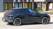 Porsche Macan second facelift spy photos