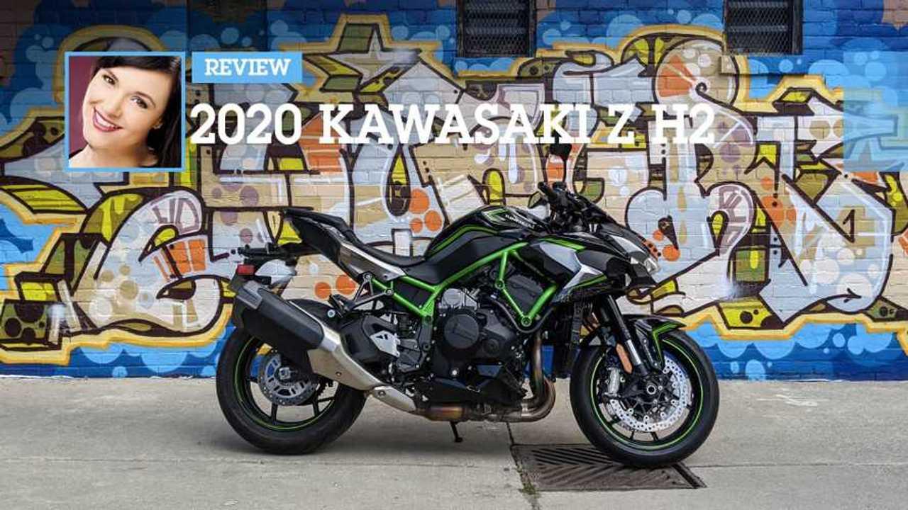 Review: 2020 Kawasaki Z H2 Main
