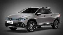 Volkswagen Golf Alltrack Kompakt Pick-up Hayali Tasarımı (Render)
