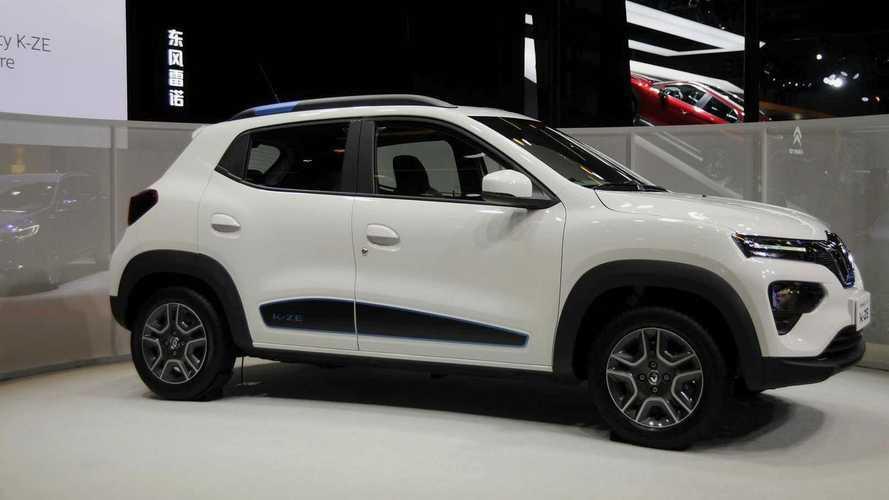 Renault Kwid elétrico estreia em outubro e chega às lojas em 2021