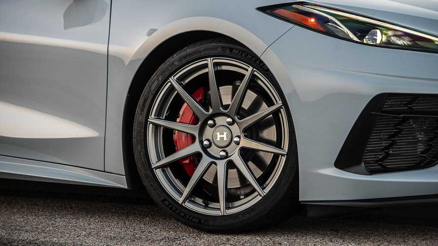 Hennessey Corvette C8 Wheels Are Wider Yet Lighter Than Stock