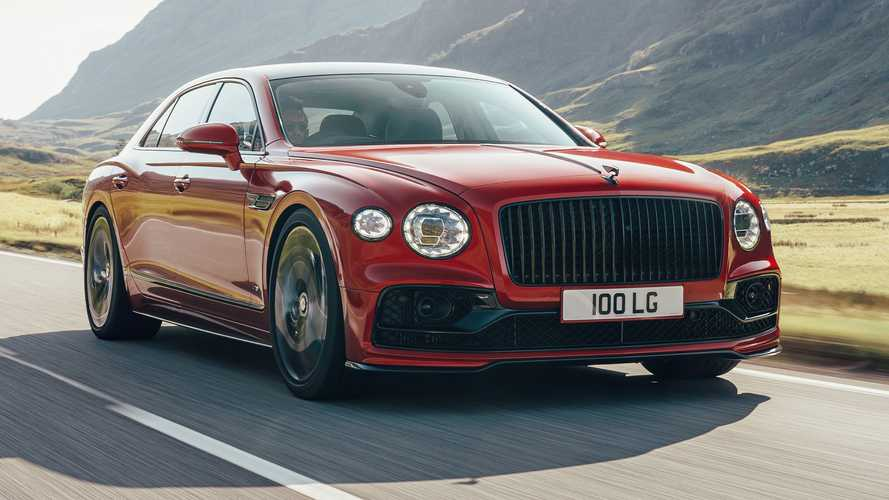 Bentley Flying Spur V8 debuts with 100 kilo diet compared to W12