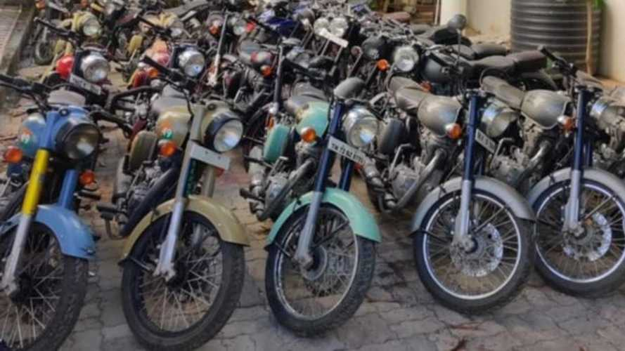 Royal Enfield Thieves Busted, 26 Bikes Recovered