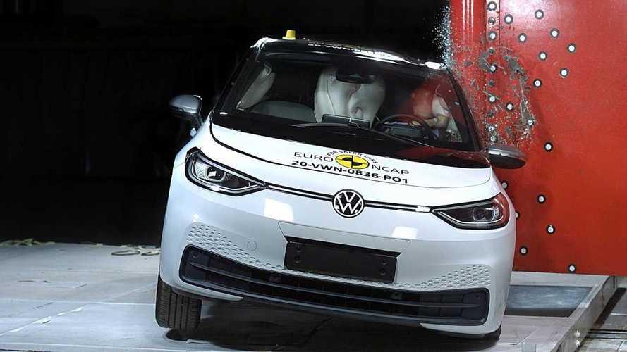 Volkswagen ID.3: per l'EuroNCAP la sicurezza è a 5 stelle