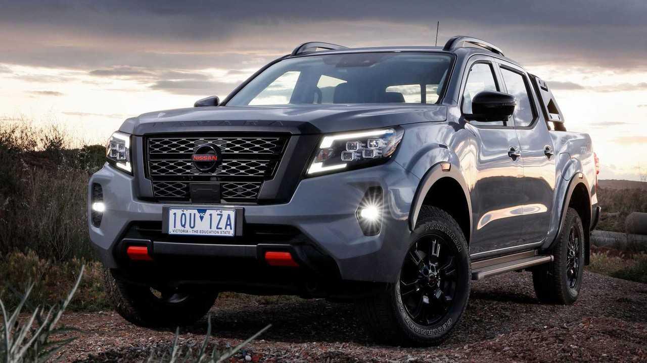Nissan Frontier 2021 reestlizada