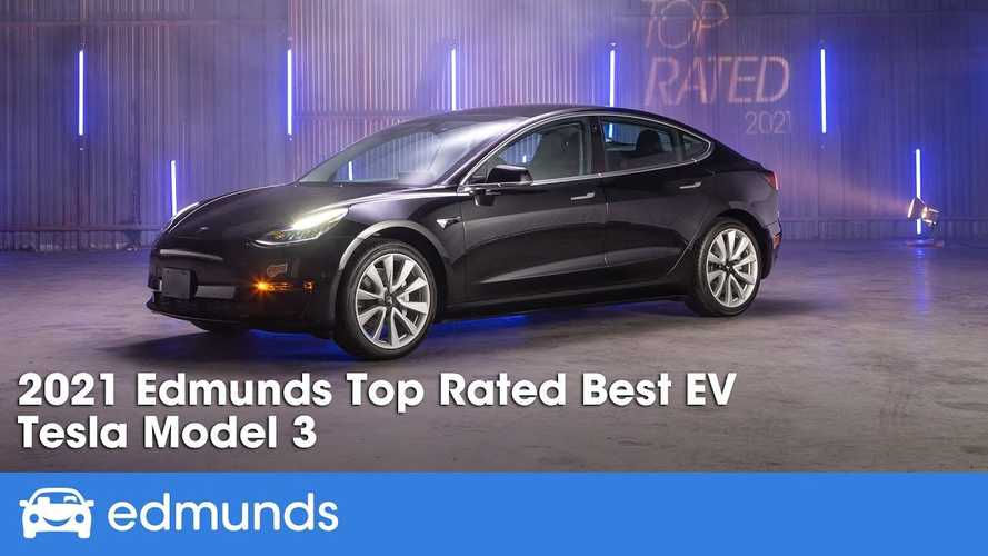 Tesla Model 3 Is Edmunds Top-Rated EV For 2021