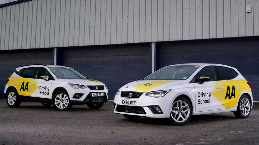 Seat Arona and Ibiza models join AA Driving School fleet
