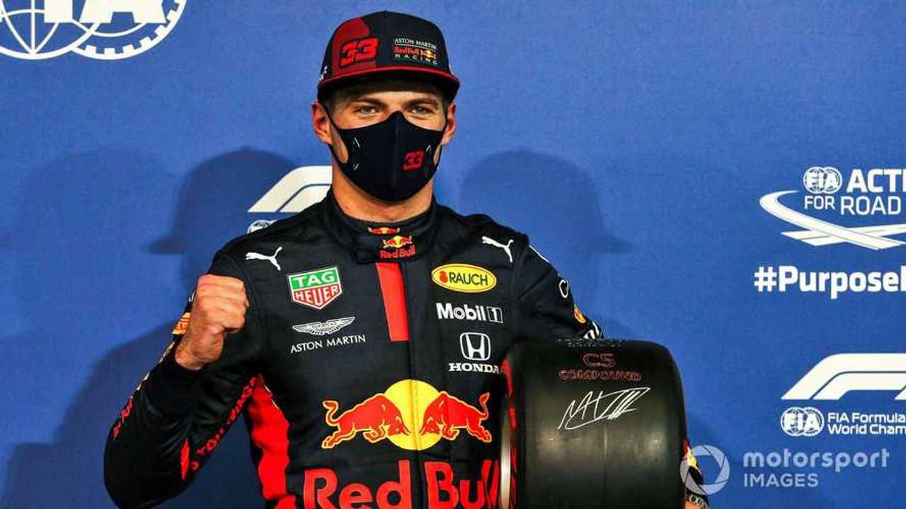 Max Verstappen at Abu Dhabi GP 2020