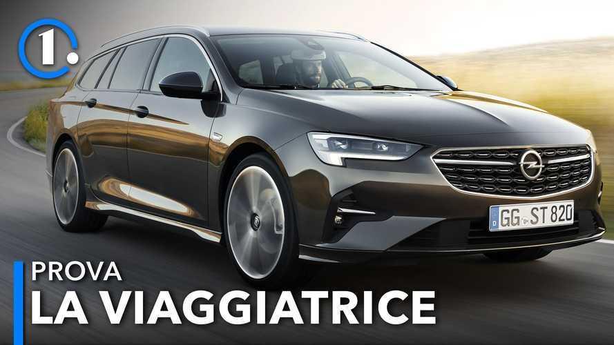 Opel Insignia restyling, la prova della station wagon