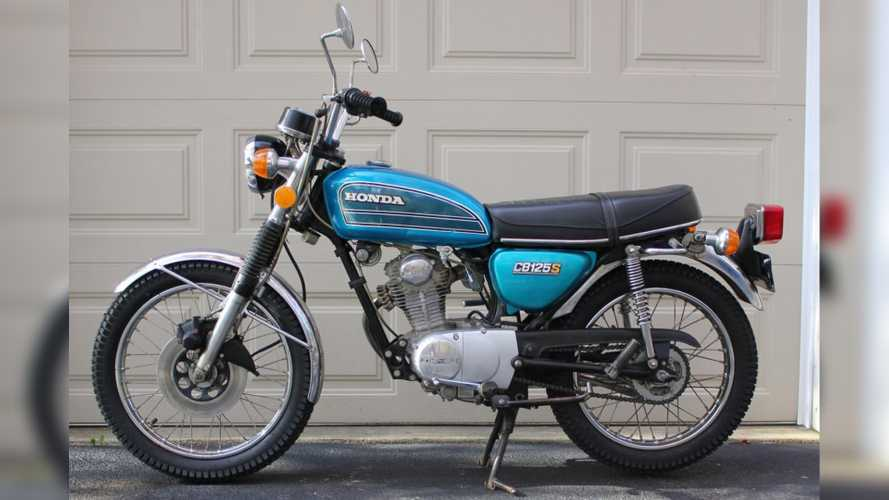 1975 Honda CB125: The CB750's Little Brother