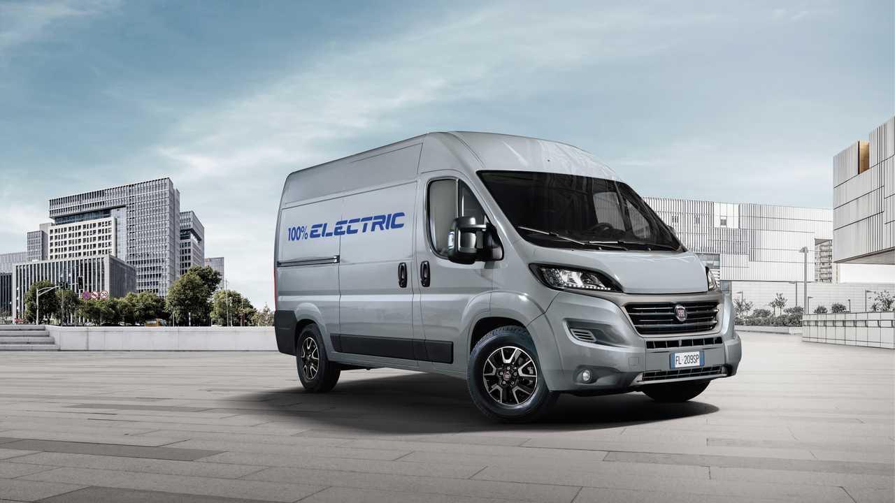 Fiat Professional Announces All Electric Ducato In 2020