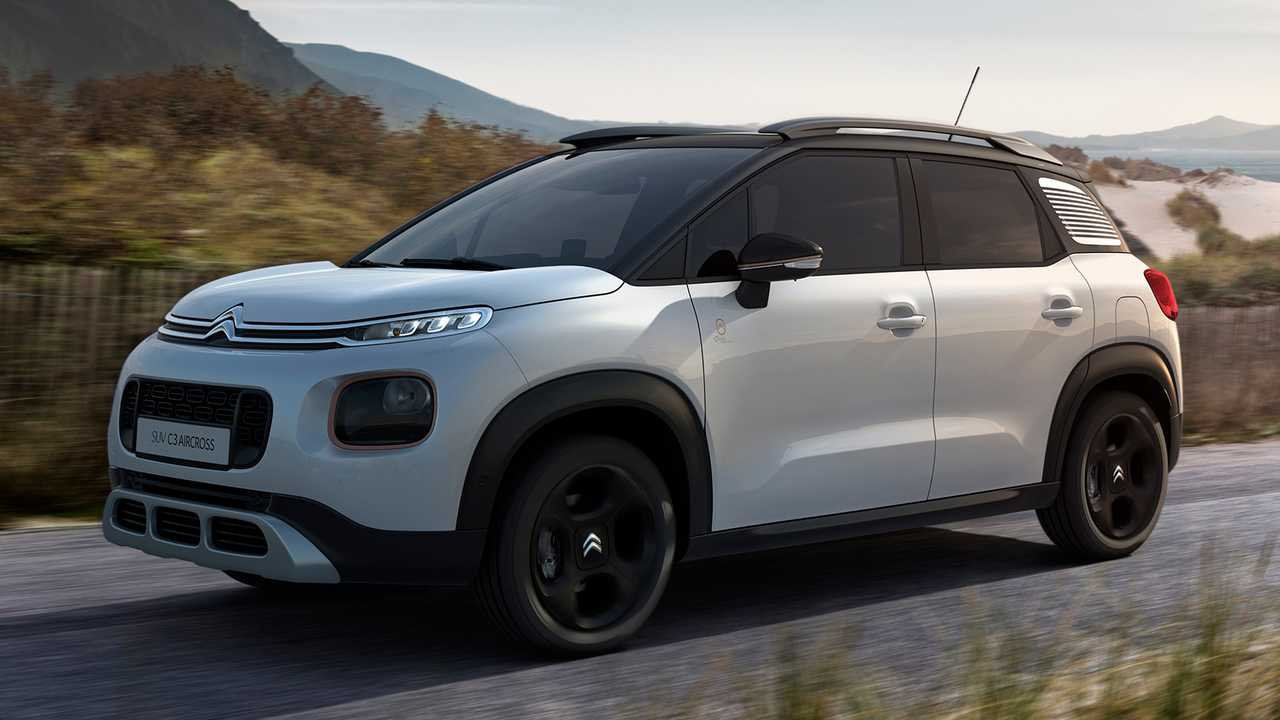 Citroen C4 Cactus >> C1 and C3 Aircross get makeover to mark Citroen's centenary