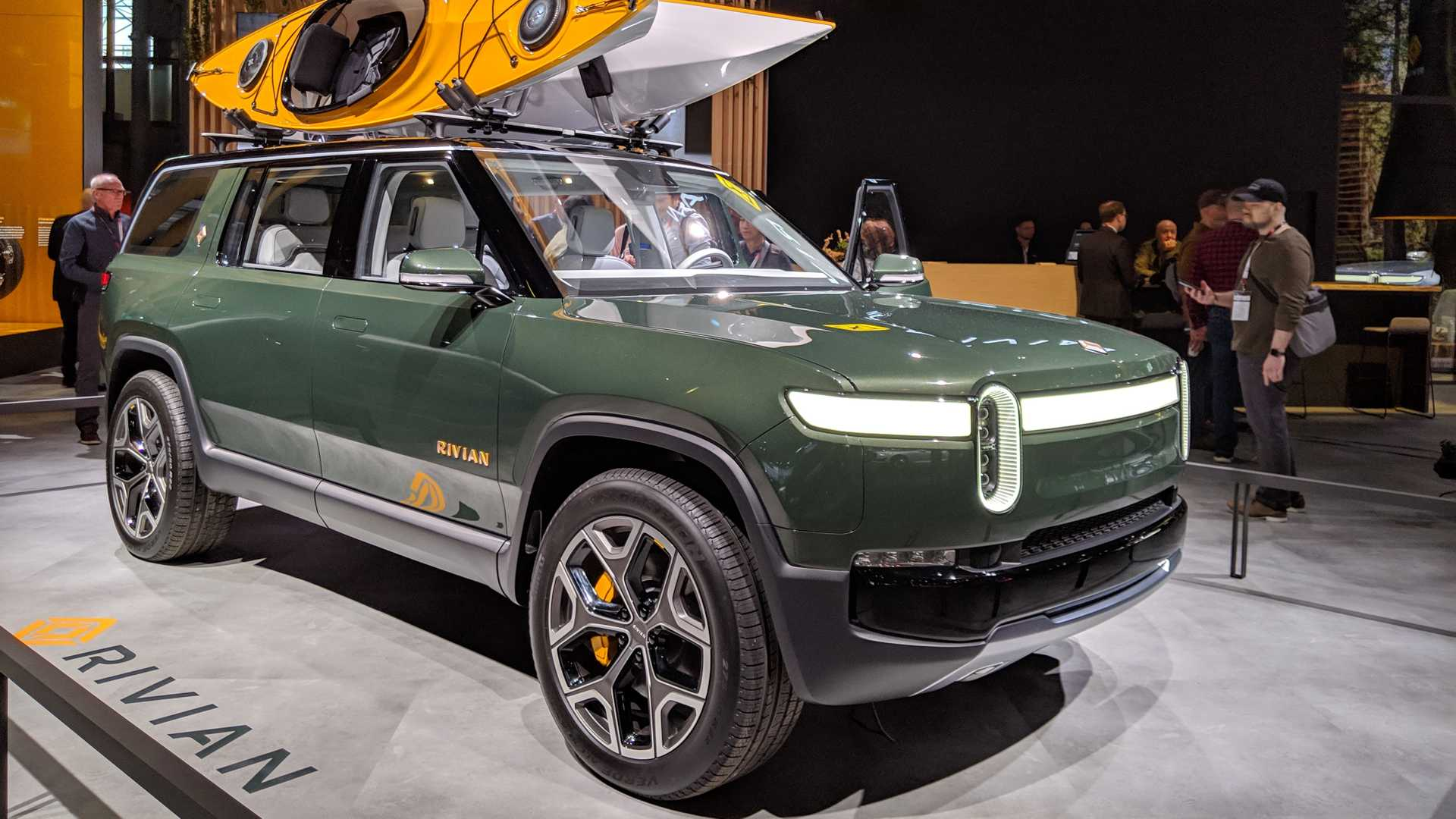 Image result for 2019 New York Auto Show Electric Car Wrap Up