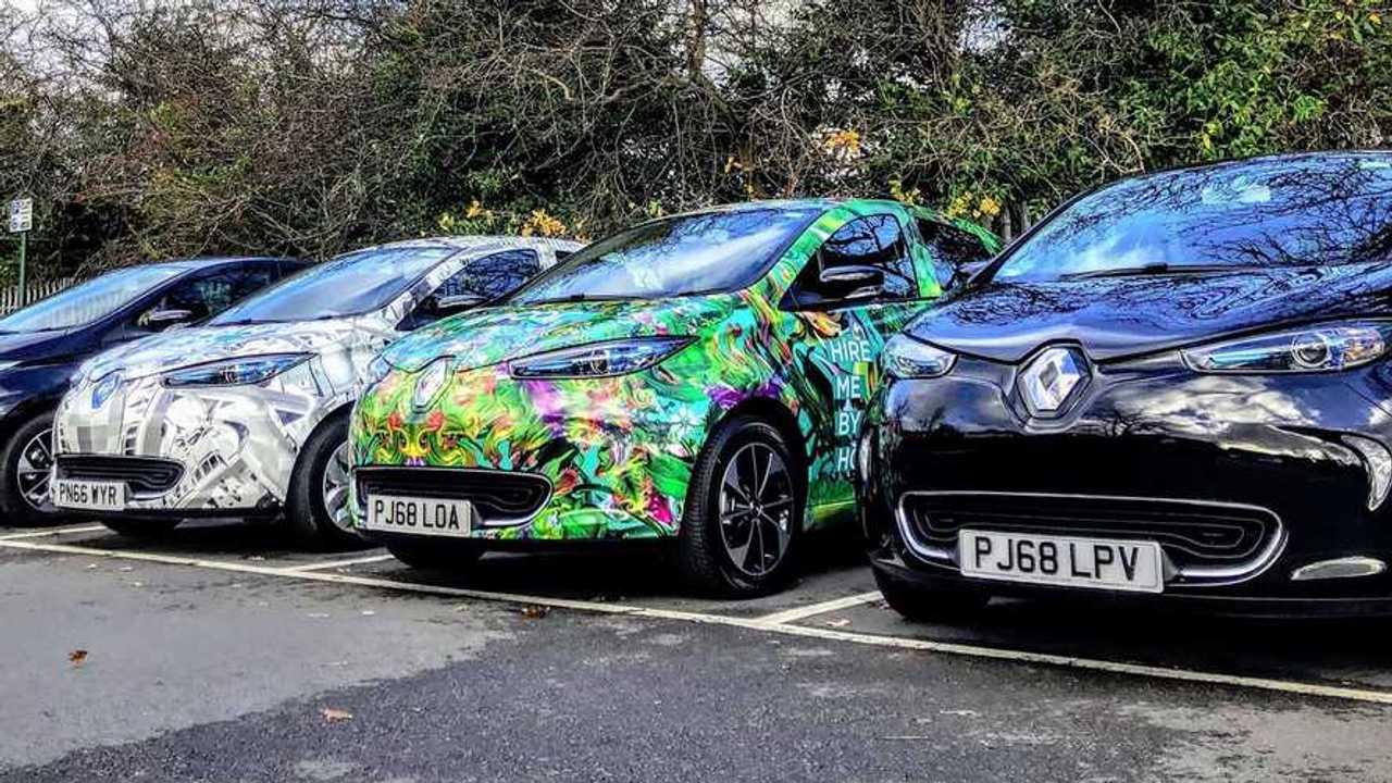 E-Car Club Vehicles