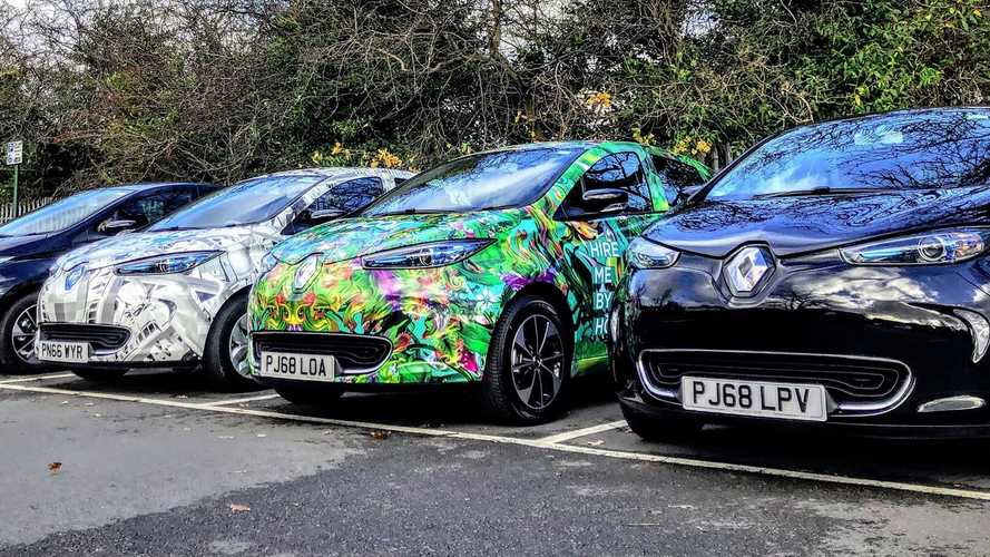 E-Car Club electric vehicles were targeted by vandals