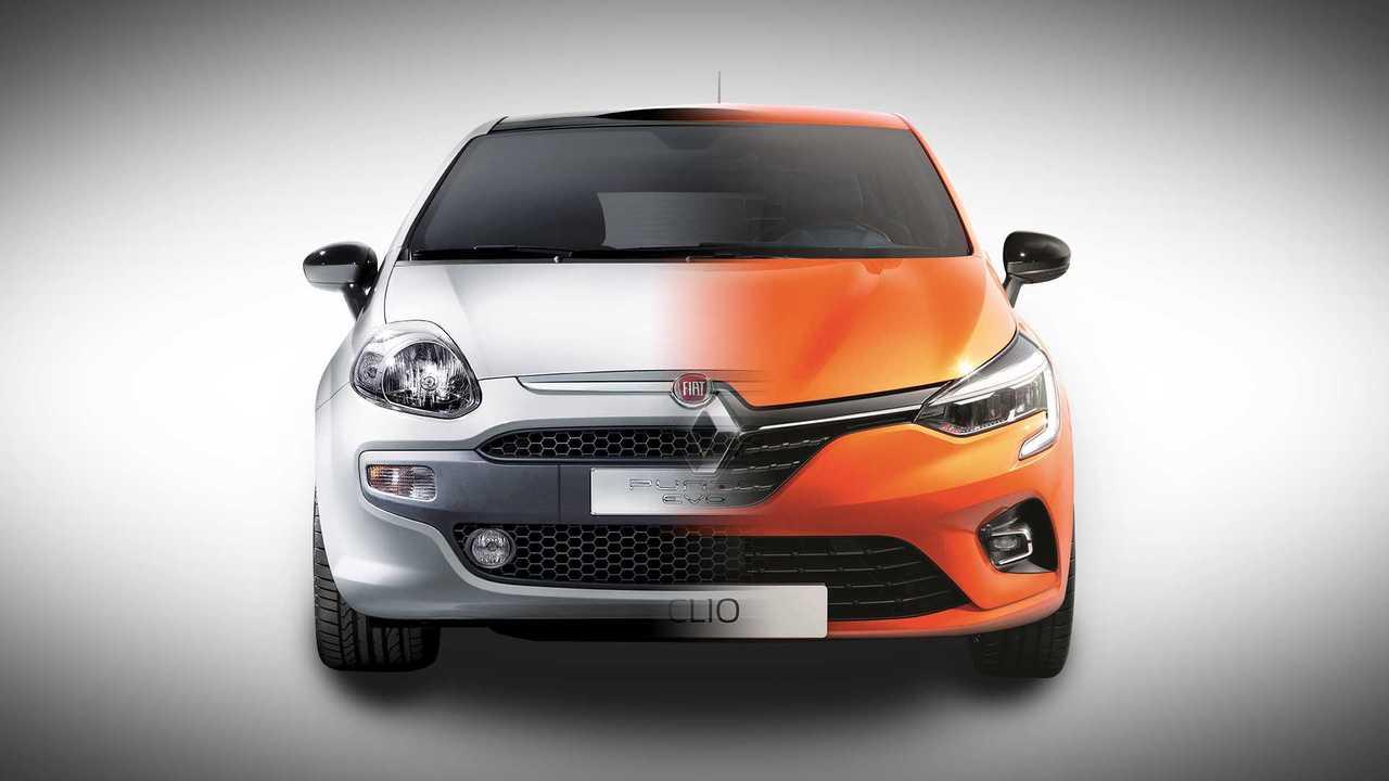 Fiat Punto Renault Clio
