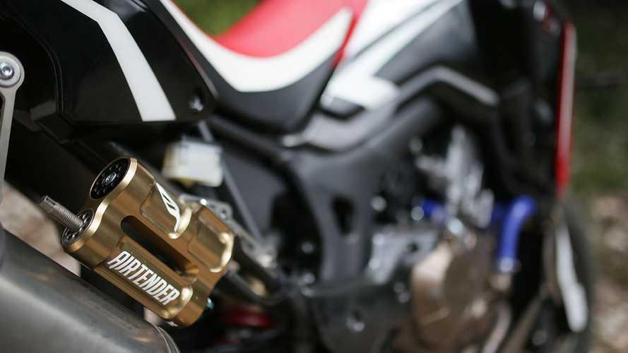 AirTender, le nuove sospensioni per Honda Africa Twin