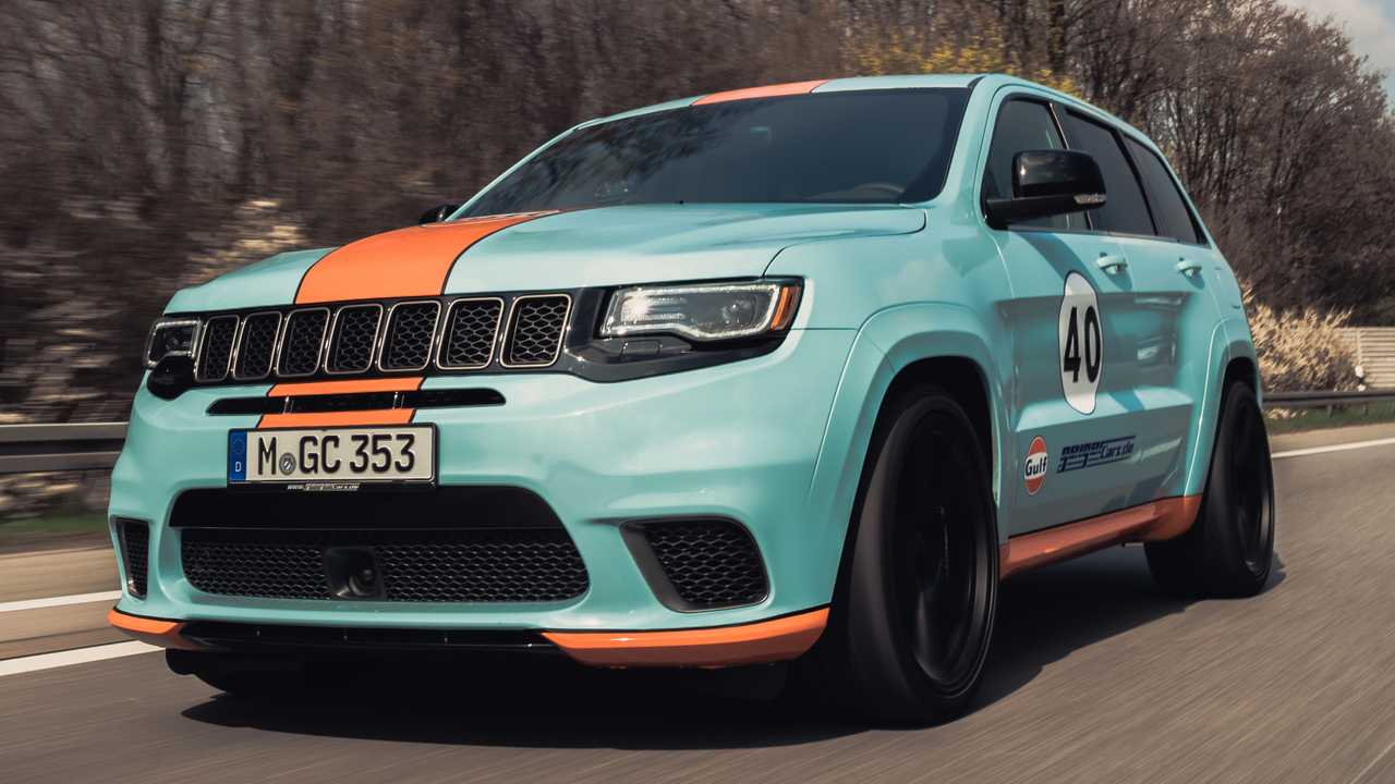 Jeep Grand Cherokee Trackhawk Gets Gulf Livery, 900 HP