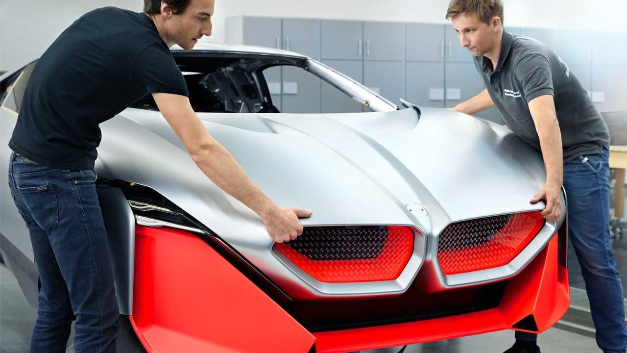 3D列印您自己的電動車BMW Vision M NEXT超跑