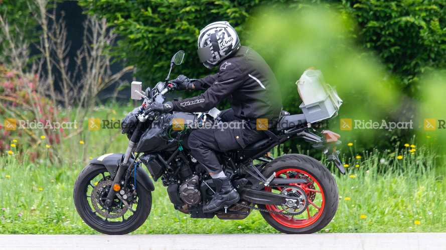 Spotted: Yamaha MT-07 (Watermark)