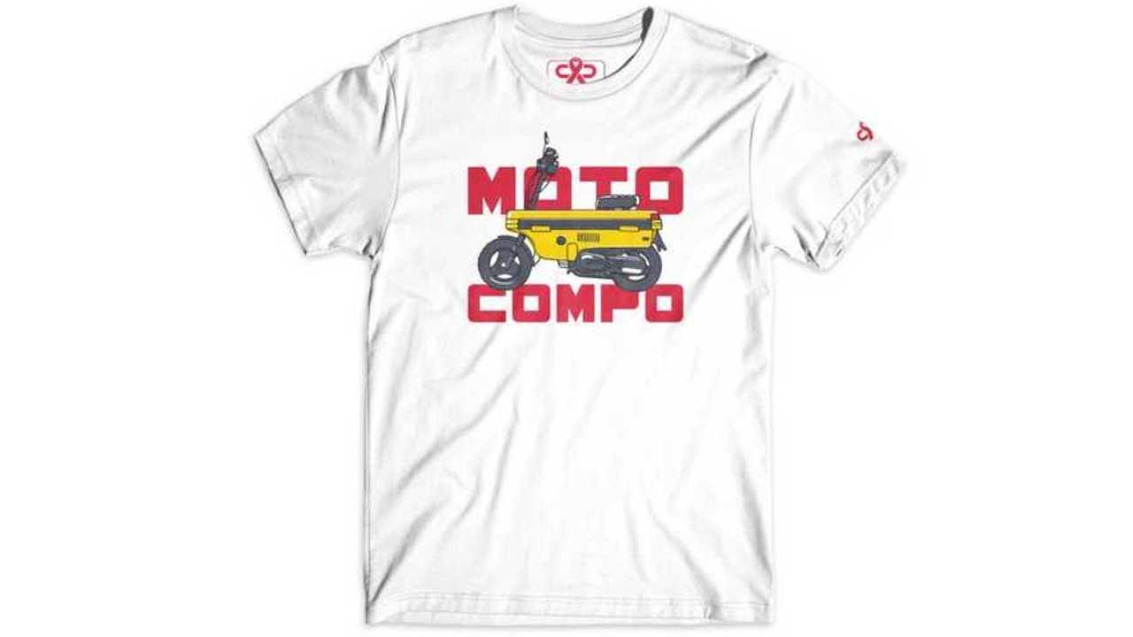 Motocompo T-shirt by Mason Watson