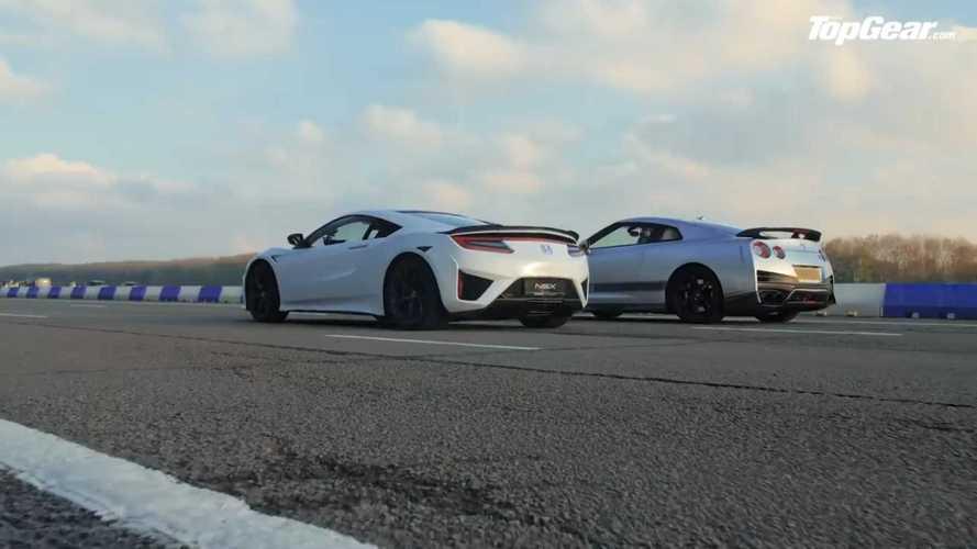 Litchfield GT-R contre Honda NSX - Godzilla, roi des monstres ?