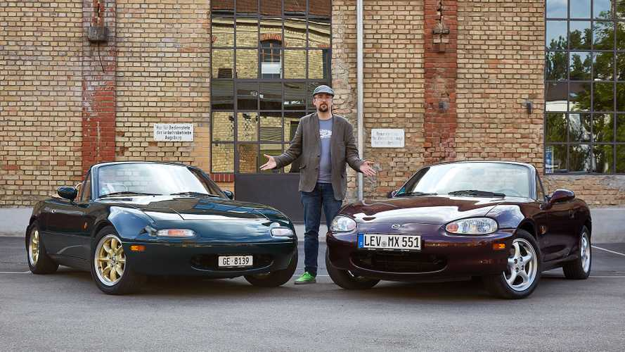Mazda MX-5 NA vs. Mazda MX-5 NB