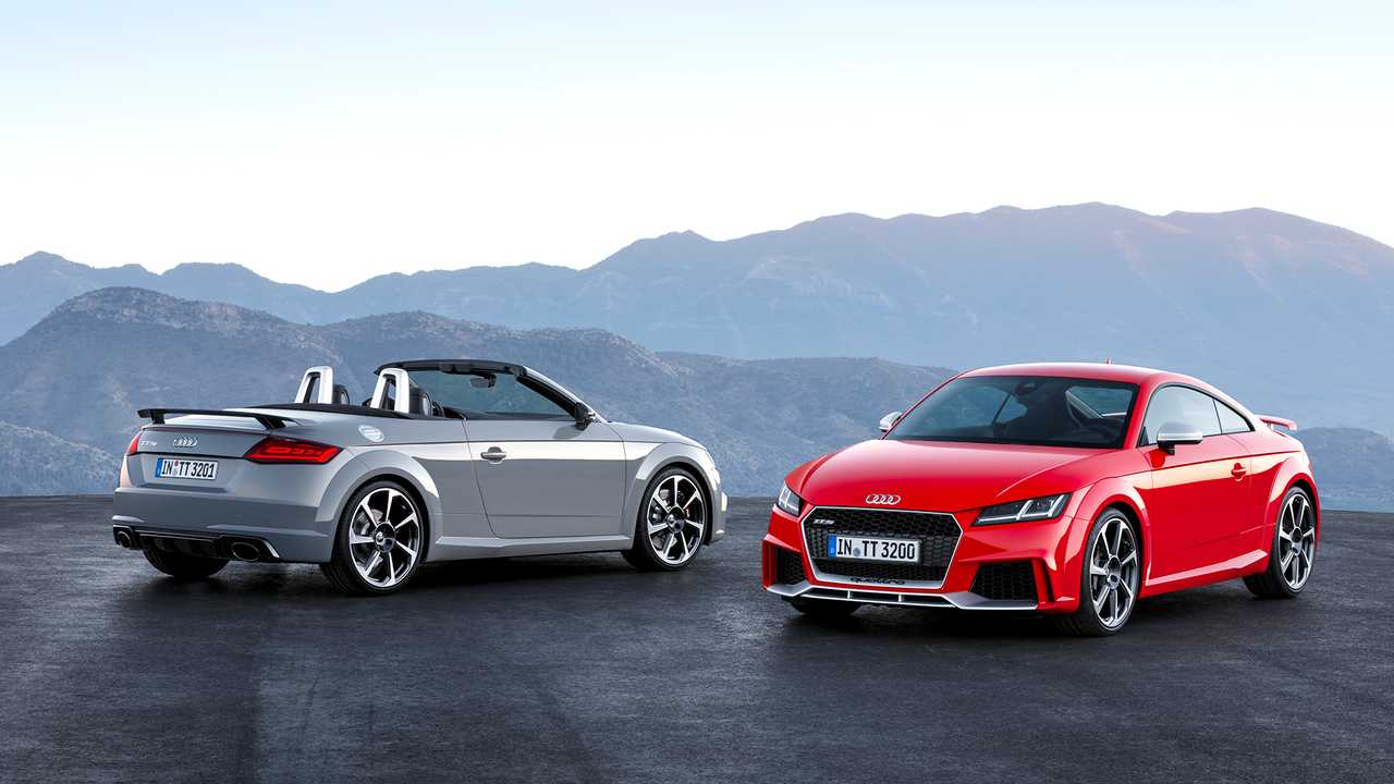 Audi TT RS Coupe et Roadster (2016)