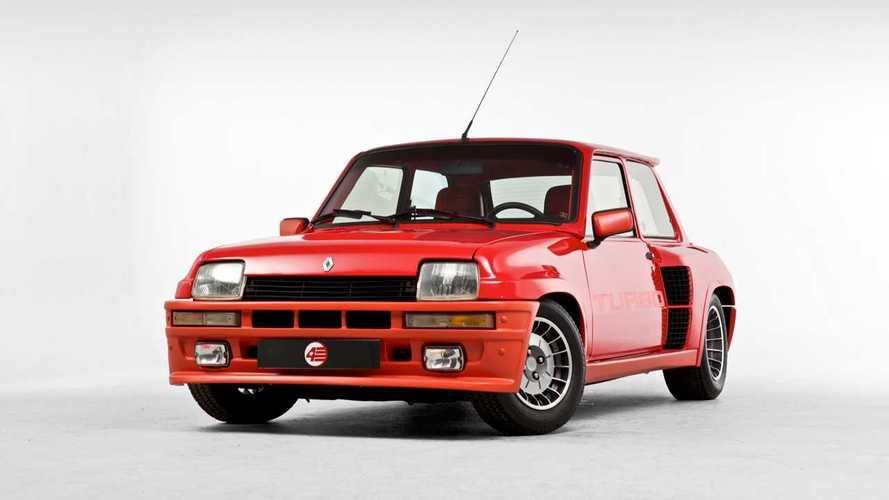 Renault Turbo, 40 anni di storia con le foto più belle
