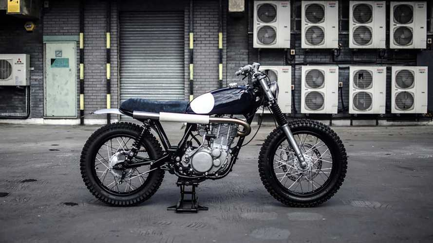 This Rally-Ready Custom Yamaha SR500 Means Business