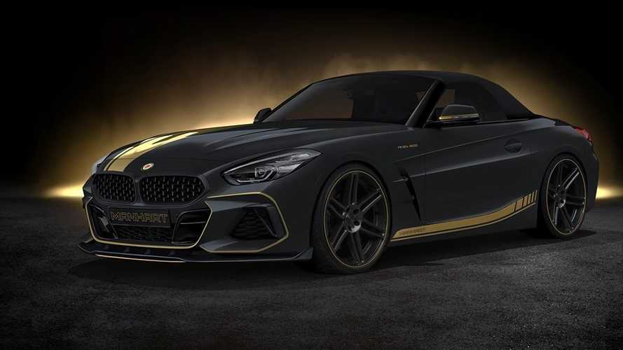 BMW Z4 By MANHART Is An Angry Yet Stealthy Roadster