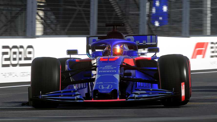 Video: First impressions of F1 2019 game