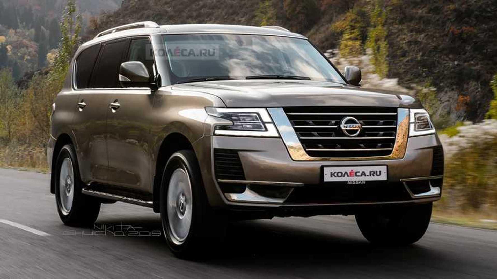 Next-Gen Nissan Patrol Rendering Looks At Possible Future ...