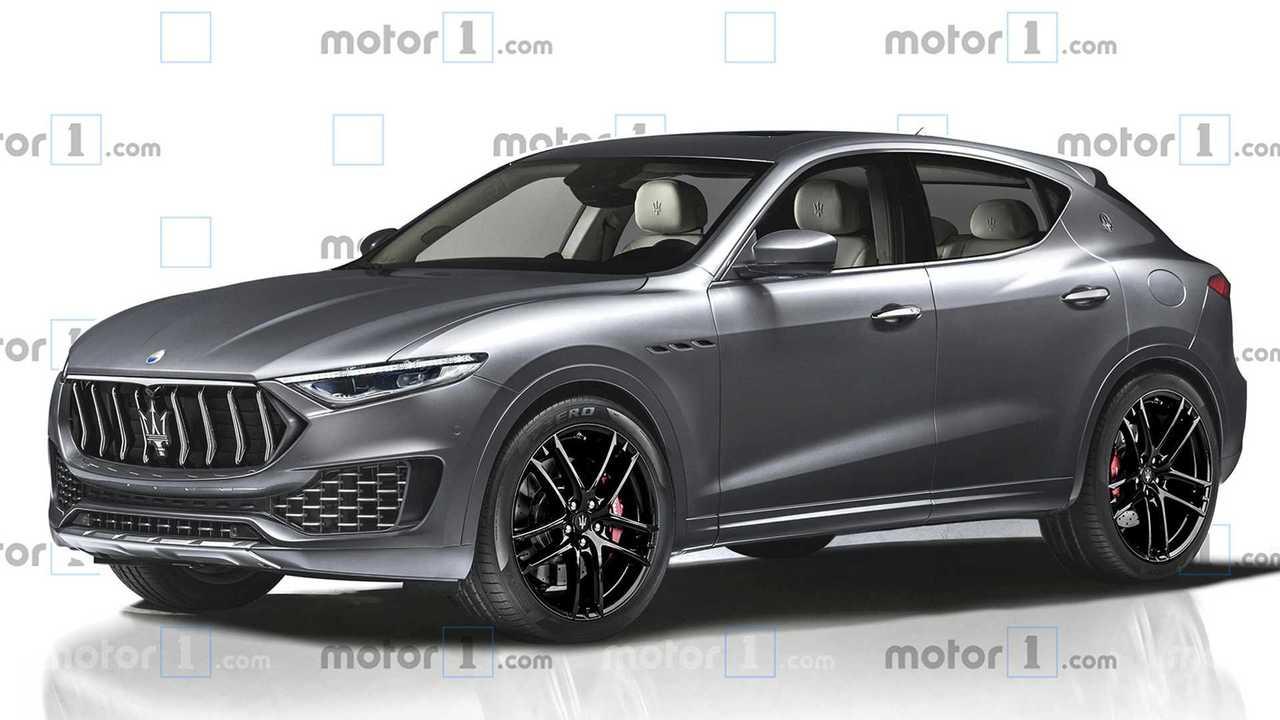 Maserati Baby Levante SUV render