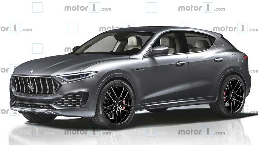 Maserati Smaller SUV Digitally Imagined With Levante Styling Cues