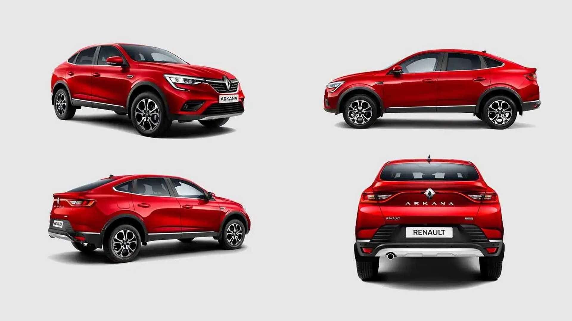СЛАЙД-ШОУ о новом Renault Arkana: пока 100 машин за 1,4 миллиона