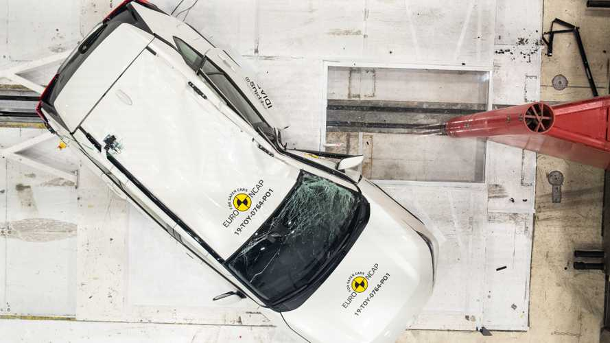 Toyota RAV4, Euro NCAP crash test
