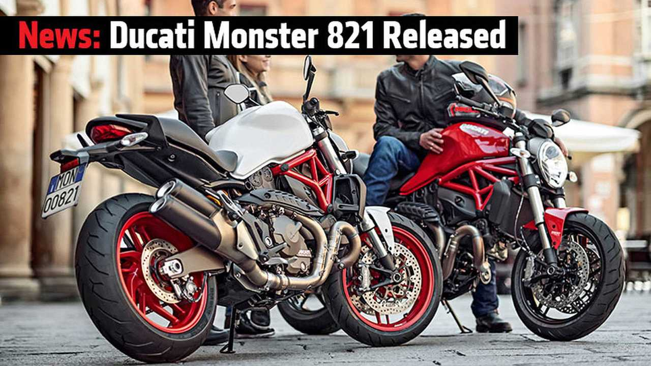 Ducati Monster 821 Release Feature