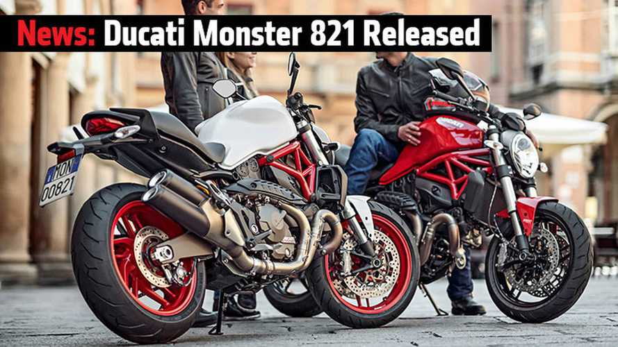 Ducati Monster 821 Released