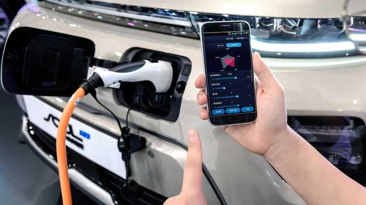 Hyundai controllo elettriche smartphone