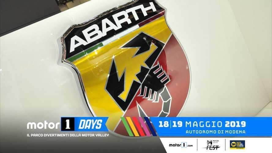 Abarth, lo scorpione punge ai Motor1Days 2019