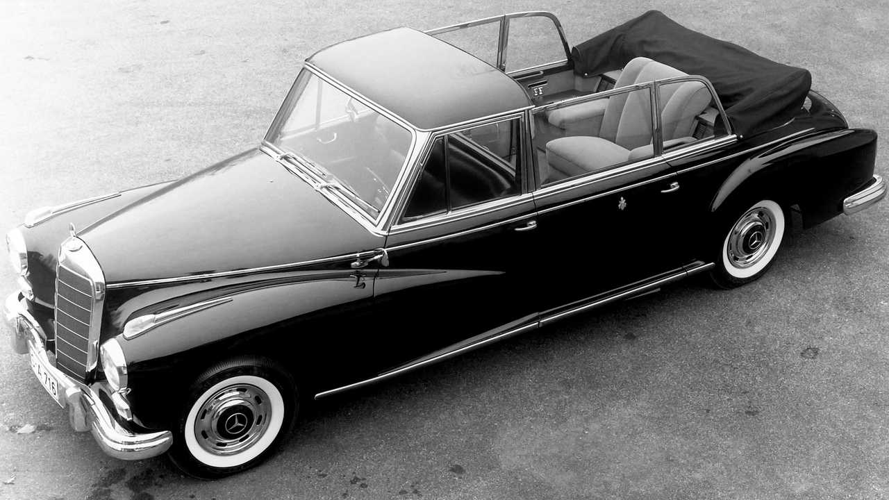 1960 год - Mercedes-Benz 300D