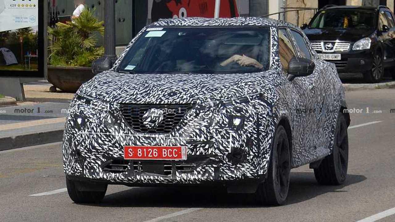 2020 Nissan Juke Spy Photo Motor1 Com Photos