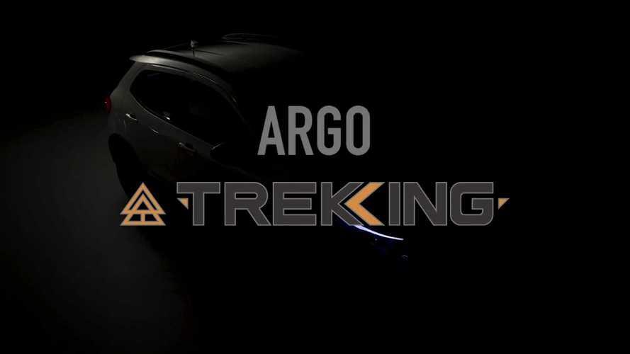 Fiat Argo Trekking mostra visual aventureiro em vídeo
