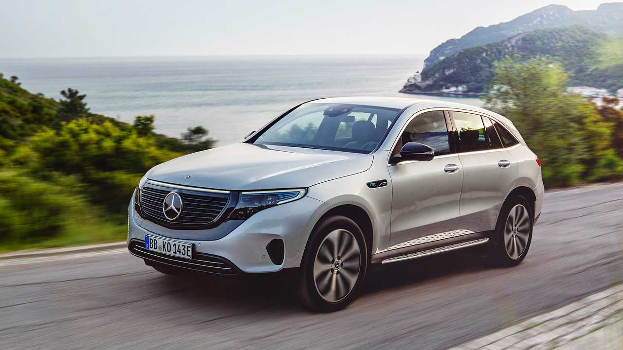 Mercedes EQC Edition 1886 2019