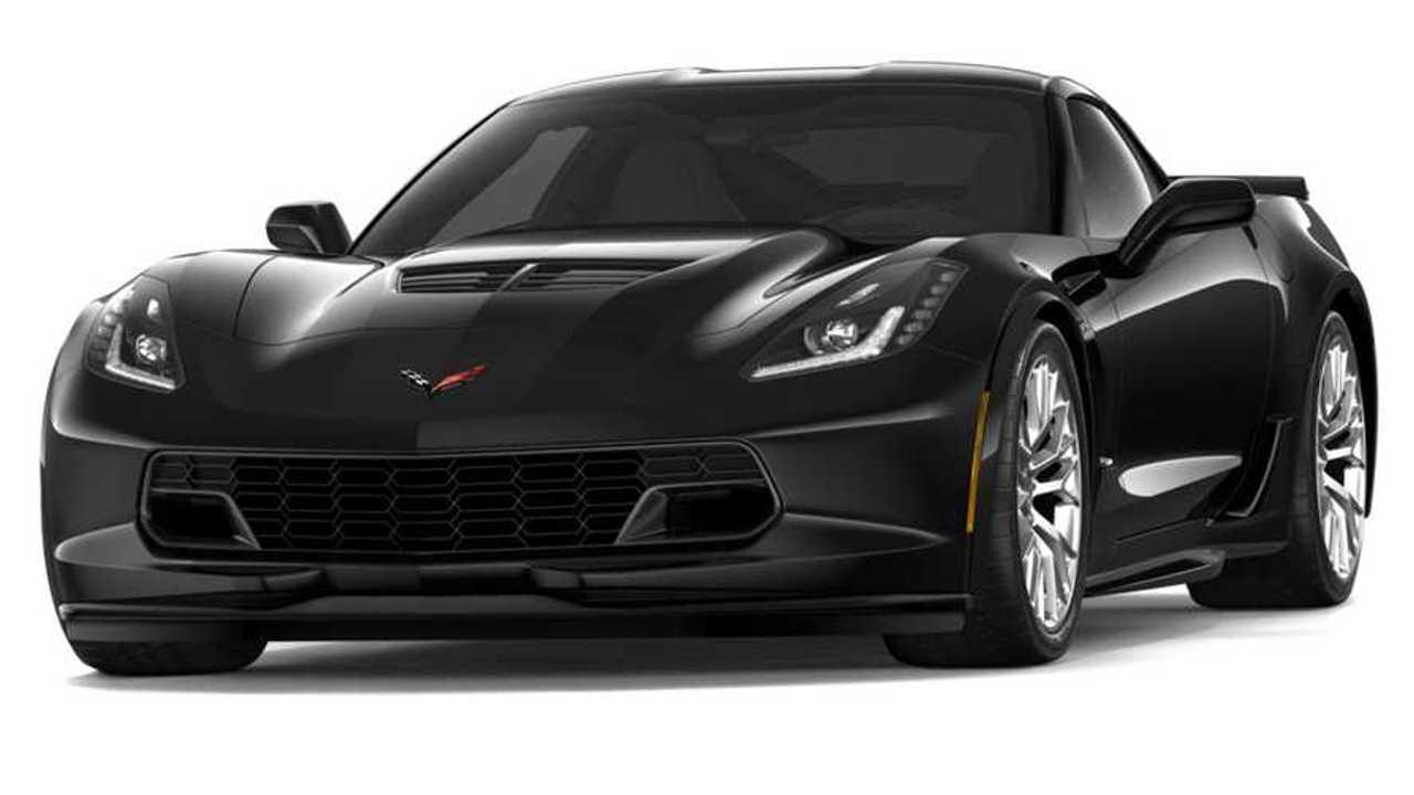 BlackChevrolet Corvette Z06